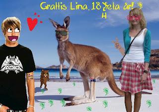 grattis lina ♧ Beauty by Tirin: GRATTIS LINA!!!!!!!!!~☆ grattis lina