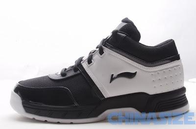 Zapatilla de Li Ning, el swosh es casi idéntico al de Nike