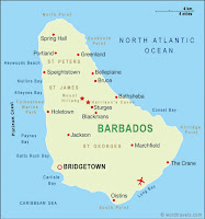 Geography and population of barbados