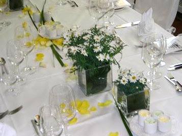 Centros de mesa para boda centros de mesa en un restaurante for Centros de mesa para restaurantes