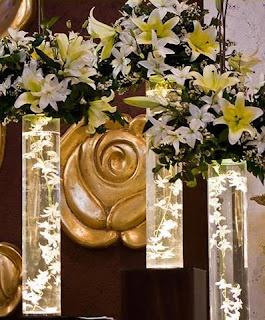 Arreglos Florales Con Luz Para Decorar La Iglesia De La Boda