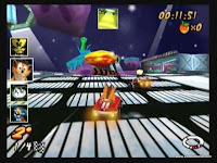 captura de tela do jogo crash nitro kart 3