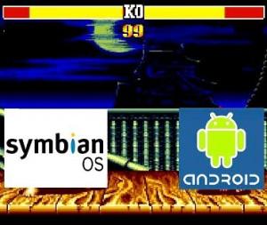 logo symbiam e android