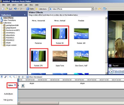 A consuming experience mobile video convert 3gp rotate 90 degrees 90 or rotate 270 depending on which way you need to rotate the video left or right both options plus the video timeline label are outlined in red in ccuart Image collections