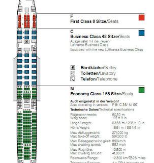 Lh Info Lufthansa Airbus A340 300 Seat Map