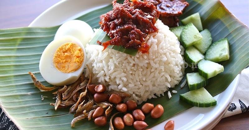 Seasaltwithfood: Nasi Lemak With Dried Anchovies Sambal (Sambal Ikan Bilis)