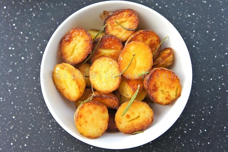 Seasaltwithfood Roasted Nugget Potatoes