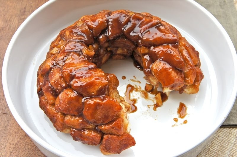 Cinnamon With Apple Pull Apart Bread Monkey Bread