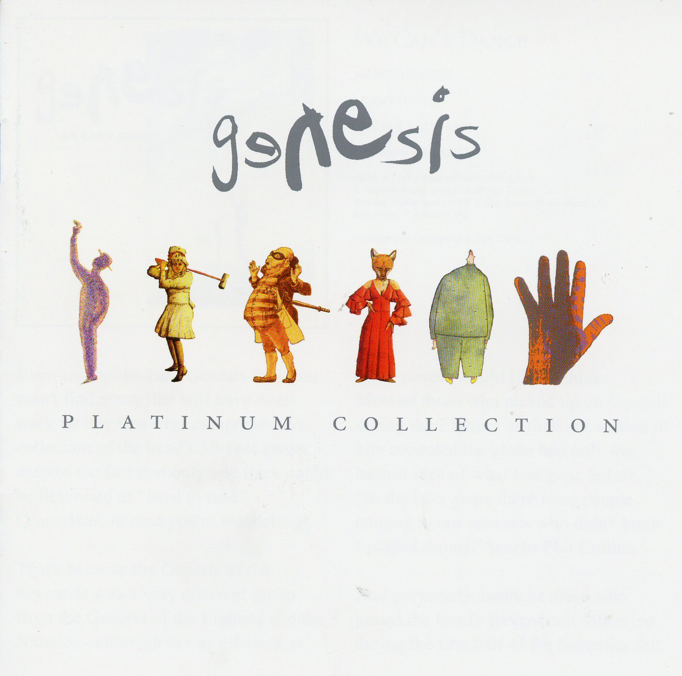 See As Free And Get What You See: Music: Genesis