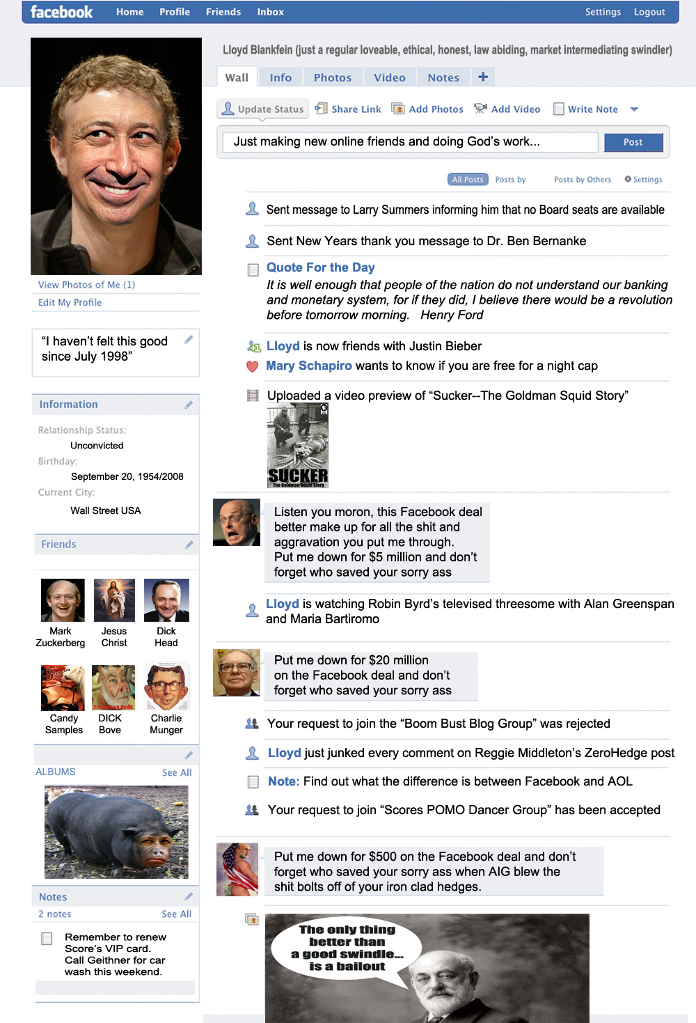 Facebook Goldman