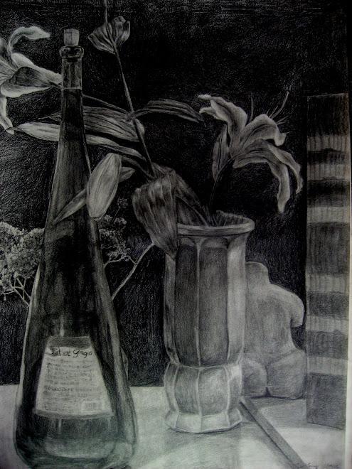 Junoh Sung, graphite on paper, 03-01-05