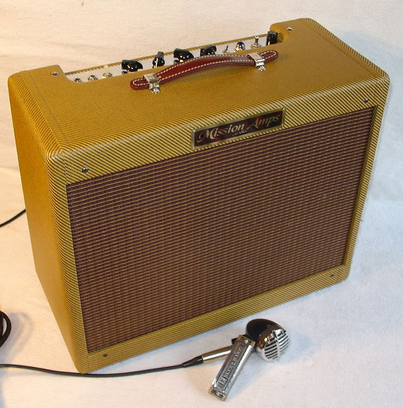 Blues Harp Amps From Mission Amps The Chicago