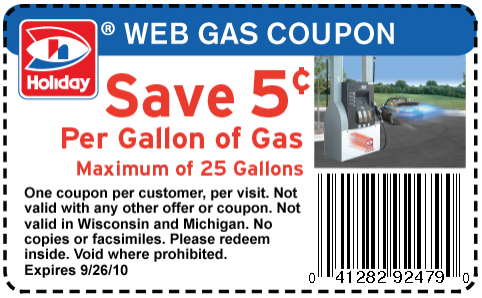 photograph relating to Gas Coupons Printable named Gasoline discount codes bp : City ladder coupon code