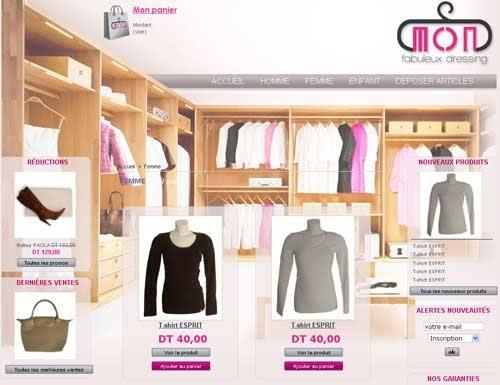 site de vente de vetement de marque