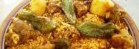Recette Plat : Bourghoul à l'agneau par L'assiette tunisienne.