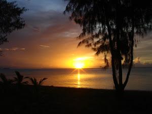 Beautiful sunset of SAIPAN!