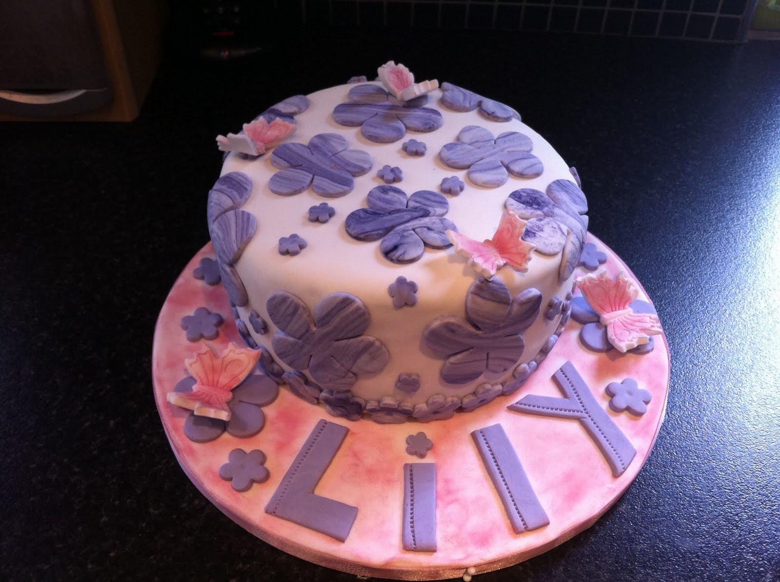 Vichabu Lily S Birthday Cake