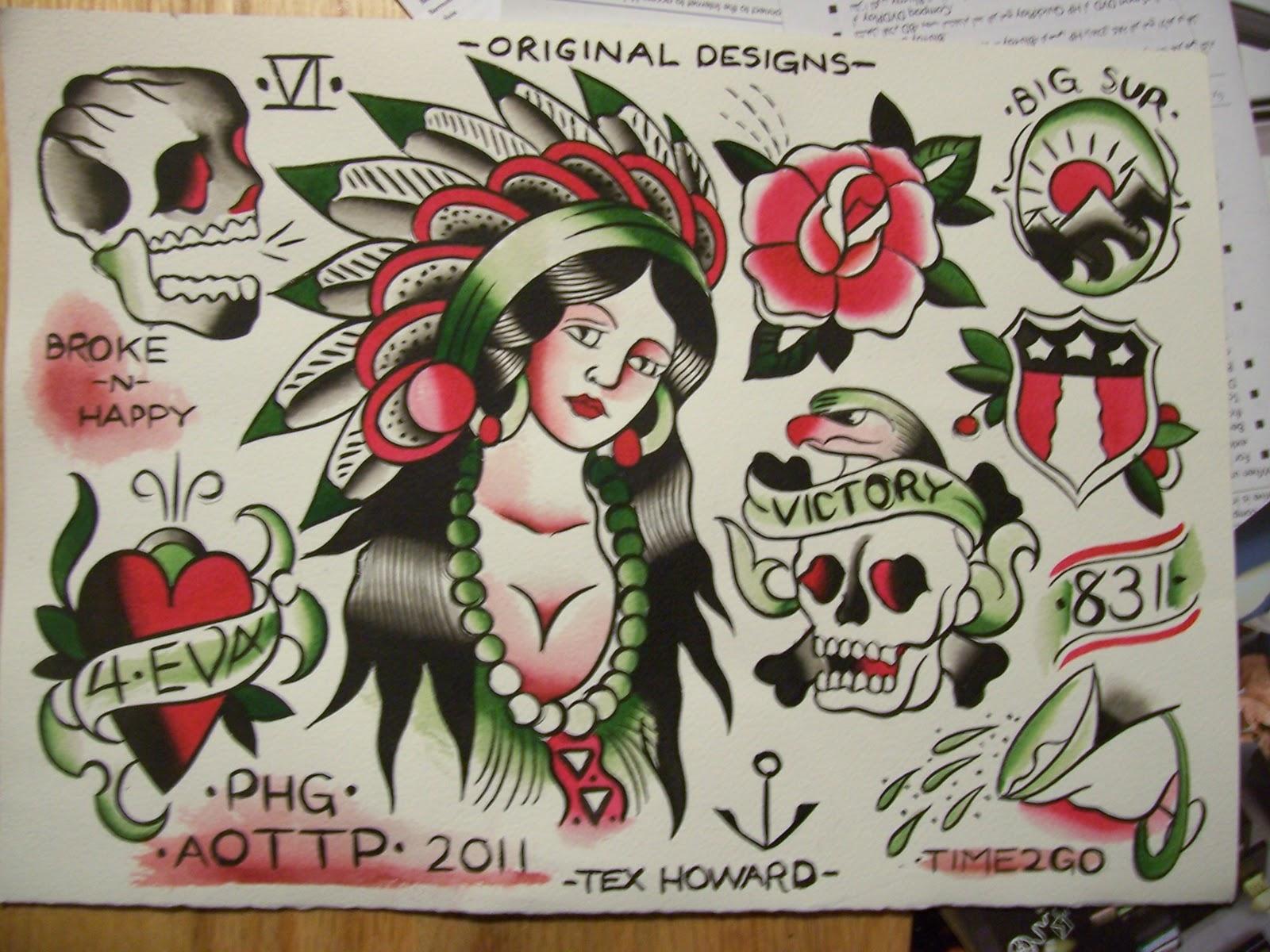Sailor Jerry Skull Tattoo