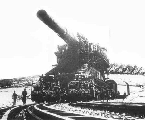 Немецкая пушка Дора
