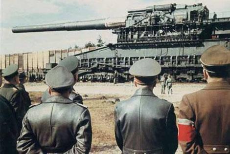Пушка Дора и Гитлер