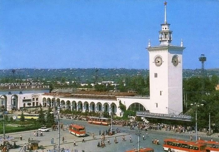 Тайны башни с часами симферопольского вокзала