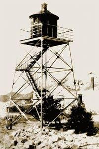 Ильинский маяк на мысе Святого Ильи