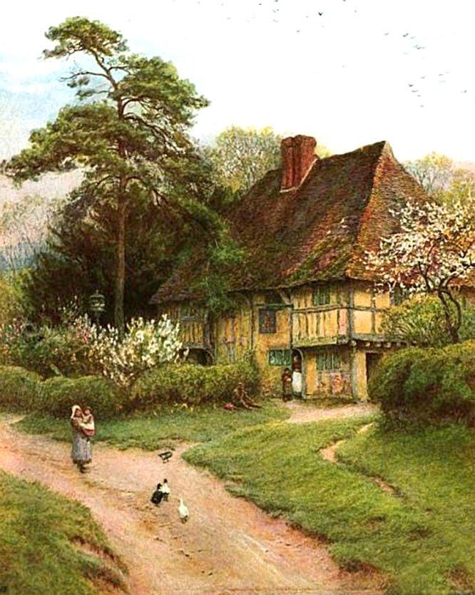 Pin Old English Cottage Pixdaus on Pinterest - Old English Cottage Plans