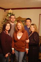 Me, Patrick, Mom, Derek & Ape