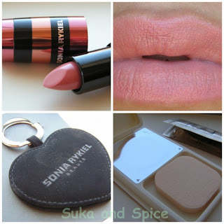 d829e5b9da1 Along with the lipstick came a mirror/keychain, and a foundation/powder  sample. Now this is where American companies need to step their game up--we  never ...