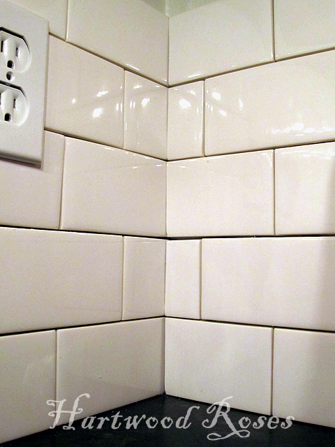 Perfect Hartwood Roses: Workday Weekend Tutorial: Tiling the Backsplash PC54