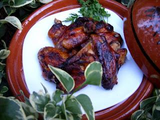 recettes  Ailes de poulet barbecue
