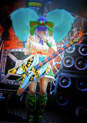 Midori from guitar hero 3 naked