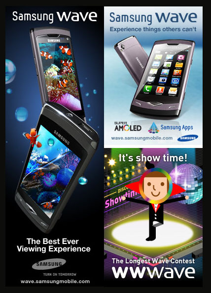 camera, Contest Promos and Winnings, prize, samsung, wave, phone, touch, screen