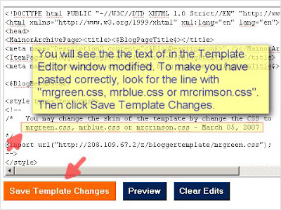 SEO Blogger Template Tutorial - Step 10