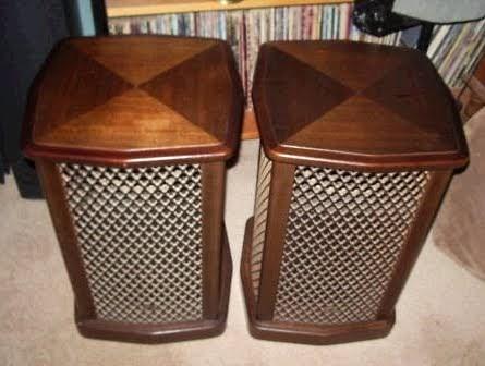 Craigslist Addicts Ebay Vintage Sansui End Table Speakers