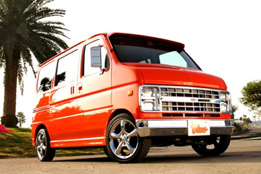 811cde1ccf Dream Factory Blow takes the stock micro vans that cram the streets of Japan