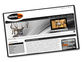 Taxidermy Tube- Learn Taxidermy Online