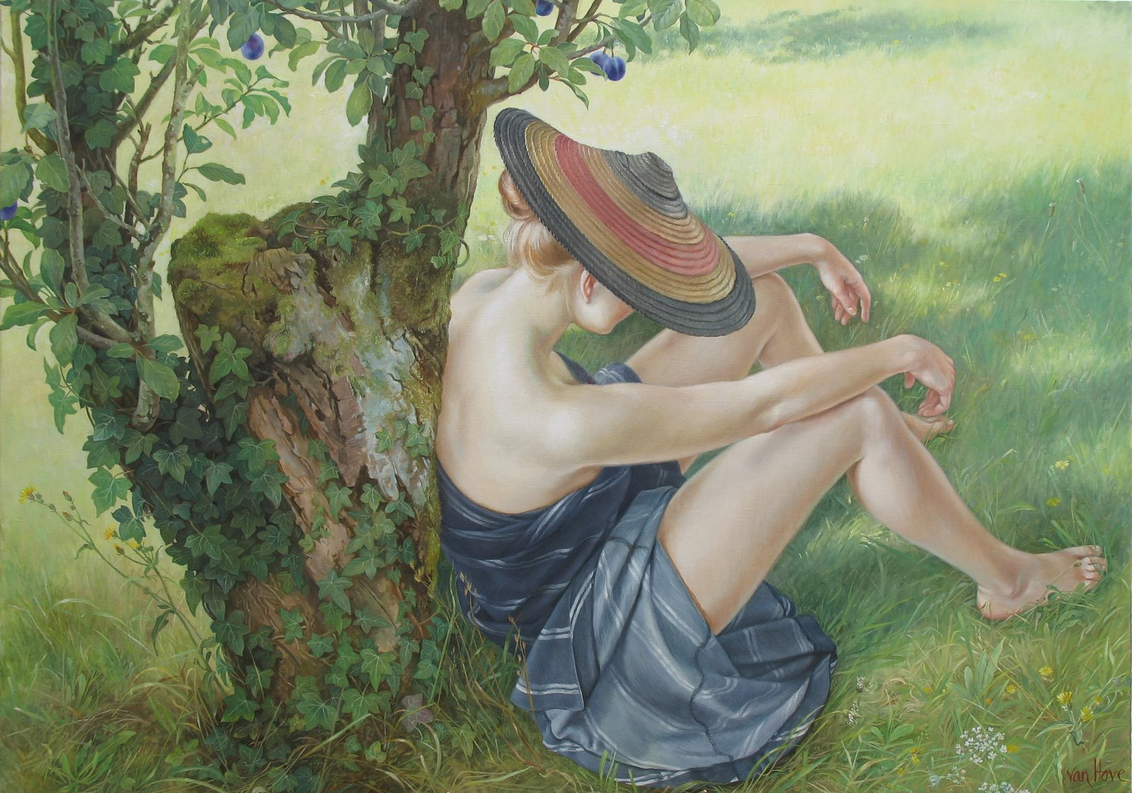 obraz namalowany przez francine van hove