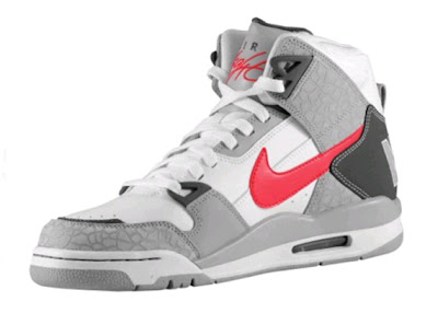 the latest bdd13 ac8ed Nike Air Flight Condor High SI – WhiteCement GreyRed