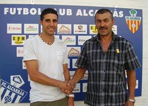 Oscar Feliu nou jugador del F.C. Alcarràs Foto+oscar+felui+1