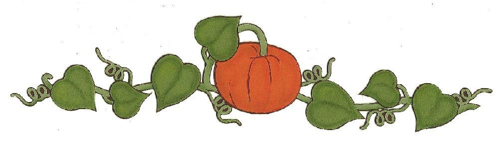 Rustic Pumpkin Clip Art