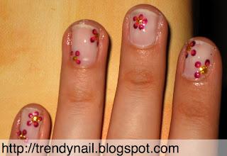 trucchetto della carta forno e nail art facile su unghie corte