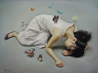 mujer+mariposas