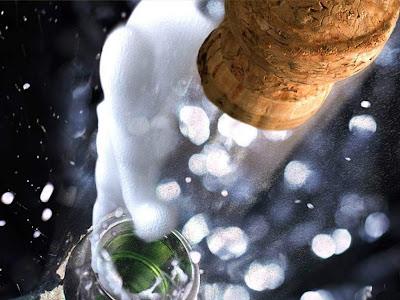 imagen brindis año nuevo+navidad