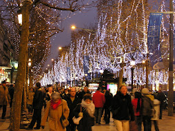 Christmas on L' Champs D'Elysee