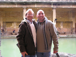 Bob and Martin at the Baths