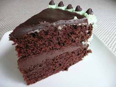 This mint chocolate cake is by far the best cake I've made i at least ...