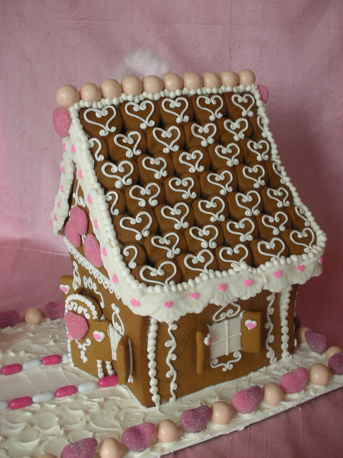 With Love Amp Confection Valentine Gingerbread House By