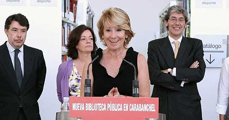 5bf6db31f La presidenta de la Comunidad de Madrid