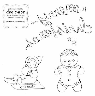 doe-c-doe: more holiday embroidery designs